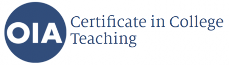 OIA Certificate in College Teaching